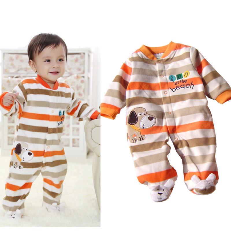 Buy 2015 Baby Rompers Fleece Fabric Newborn Baby Romper Carters Baby