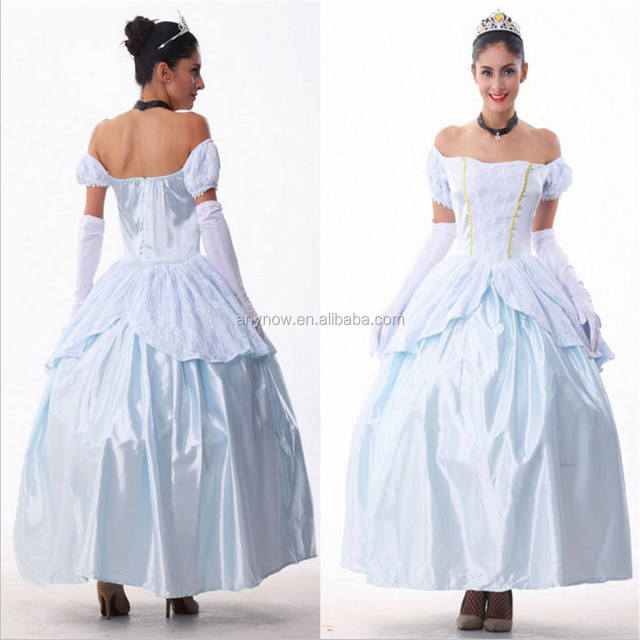 European royal court dress halloween adult snow white cinderella cosplay costumes