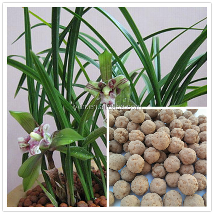 Clay pots soil for perennial garden flower orchid growth for Garden soil for sale