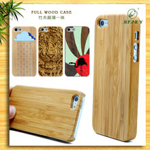 plain bamboo wooden case/ plain mobile phone cases for iphone 5/ for iphone 6 /for iphone 6 plus