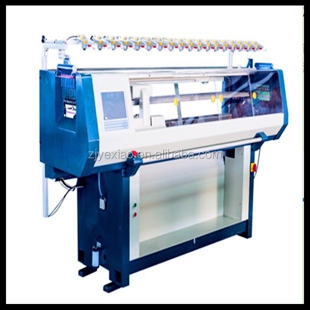 Fully Fashioned Knitting Machines : Universal automatic knitting flat machine for