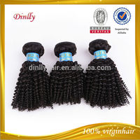 2014 Top seller hair product fashion afro kinky curly indian remy hair weave