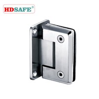 Stainless Steel tempered glass shower doors hinges shower door hardware