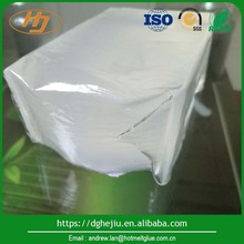 Transparent Styrene and SIS pressure sensitive adhesive for diaper elastic Construction