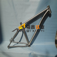 ASTM B862 Titanium Pipe Welded for Titanium Bike Frame