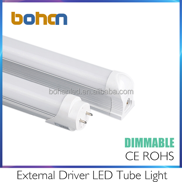 High brightness 18w dimmable led tube light t8