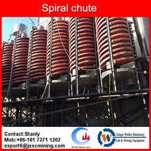 JXSC Gravity separator spiral chute for zircon concentration