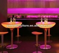 led coffee table&led hotel furniture