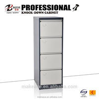 drawer-type unassembled metal cabinet with drawers