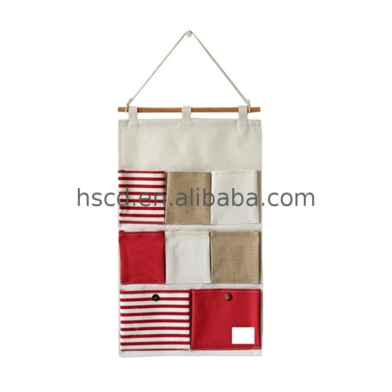 Best selling products hanging wall organizer pocket walmart school