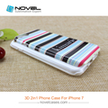 3D Dual Protective Phone Case For iPhone7,Sublimation Blank Cover