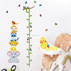 Direct Selling Children's Real Cartoon Animal Height Paste Children Room Kindergarten Background Decoration Painting AY9201