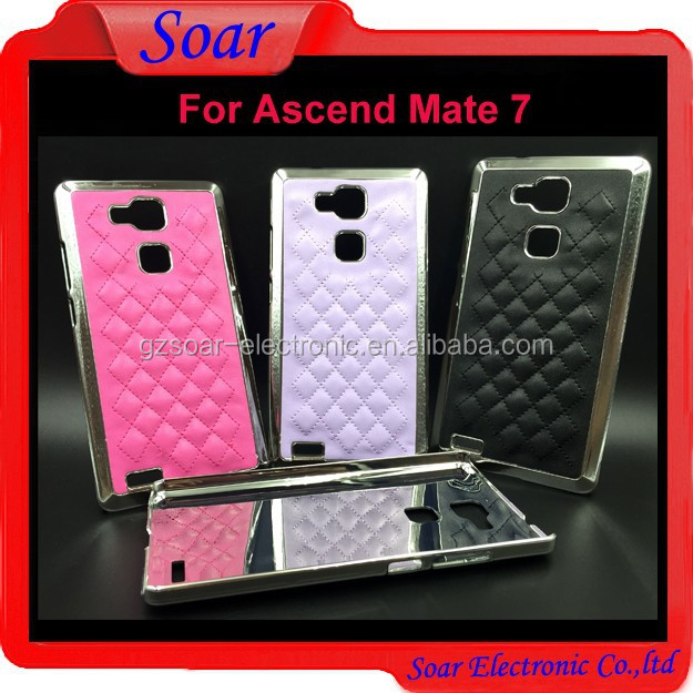 Wholesale hard case for Huawei Ascend Mate 7,lagging leather cover case for Huawei Ascend Mate 7
