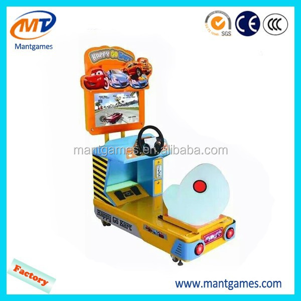 New products happy go kart kids racing game machine for sale