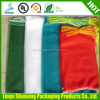mesh bag onion packing / vegetable fruit mesh bag wholesale / pp mesh net bag