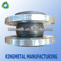 single sphere rubber expansion joints with flanges