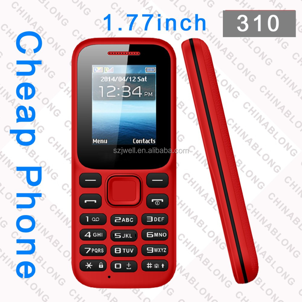 2016 low price 1.8 inch all china mobile phone models small size mobile phones 310