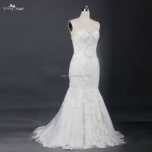 RSW707 Lace Mermaid Ready Made Wedding Dresses For Sale Online Shop