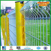 PVC coated/ Galvanized wire fencing panels/ Metal Fencing panel