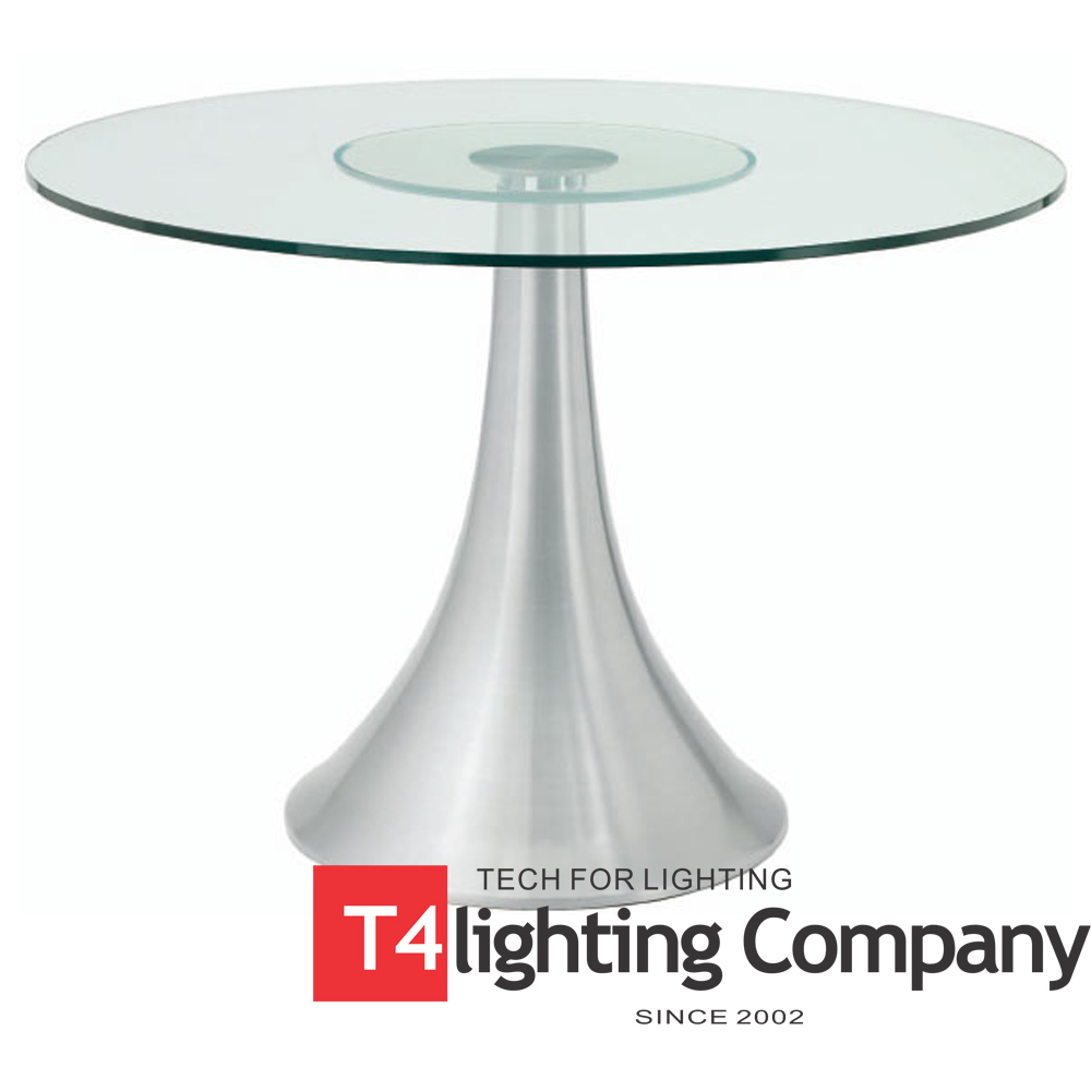 Aluminum Chair Leg Brushed Stainless Steel Metal Table Base