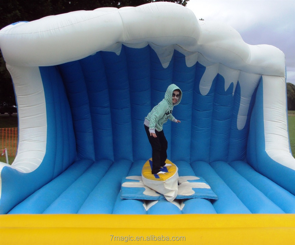 Commercial inflatable surf simulator and Mechanical Surfboard for sale