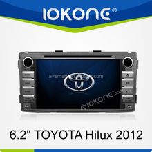 Special stereo trading company 6inch Touch Screen High Quality special gps stereo In Dash Car DVD Player for TOYOTA Hilux 2012
