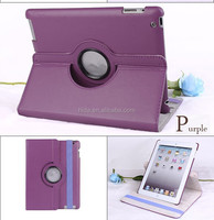 360 Rotating PU Wake/Sleep Leather Case Skin Cover for Apple Air 5 5th Gen