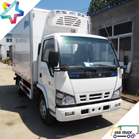 4.3m reefer truck body 6.6T refrigerated trucks light duty refrigerator box truck
