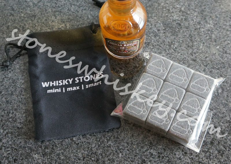 Christmas gift for men | accessories for whiskey | whiskey stone with logo