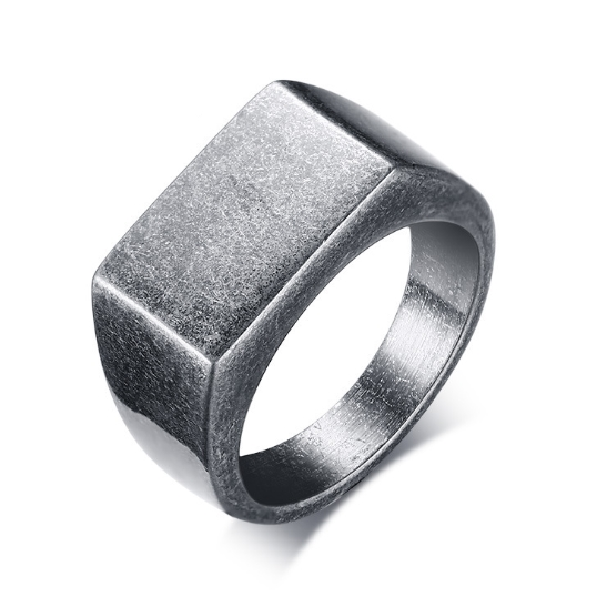 Dongguan manufacturers wholesale ancient silver stainless steel jewelry men's viking <strong>ring</strong>