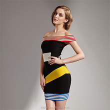 Many colors off shoulder short best lady gown
