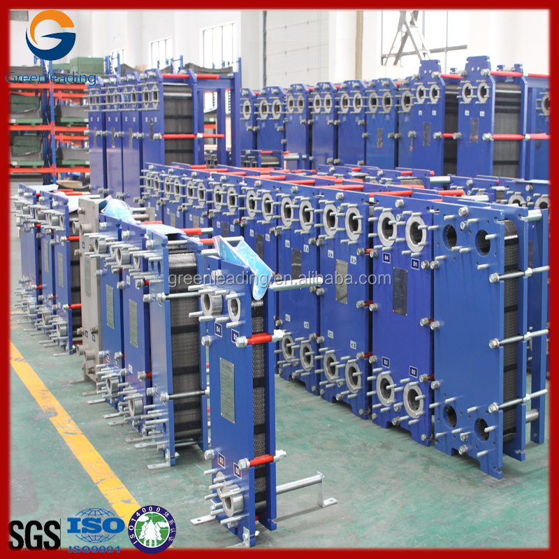 Equal with Alfa Laval GEA SONDEX Gasket plate heat exchanger for nuclear power plant