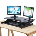 Sit standing height adjustable desk