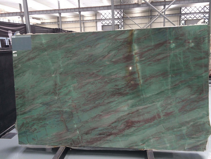 Top quality Natural green stone slab green jade stone