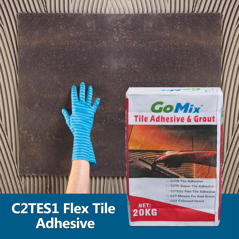 C2TES1 Flexible Tile Adhesive with Excellent Elasticity and Bbonding Strength