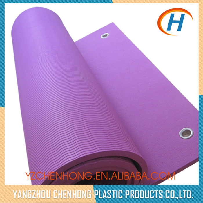 Top Selling Eco Hole TPE One Layer Recycled Yoga Mats