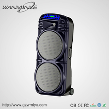 "Professional 12"" DJ Woofer Revolving Light Sound Speaker"