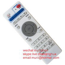 High Quality White 32 Buttons Network music player Remote Control New TVUPlayer iPade edition Controller with AAA*2 Battery