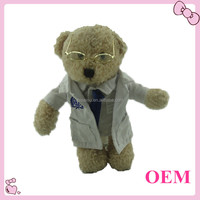 Customized plush material toy plush doctor bear toy