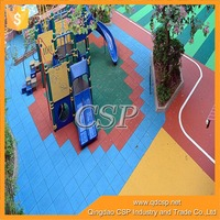 Playground Recycle cheap outdoor basketball court rubber floor tile from china