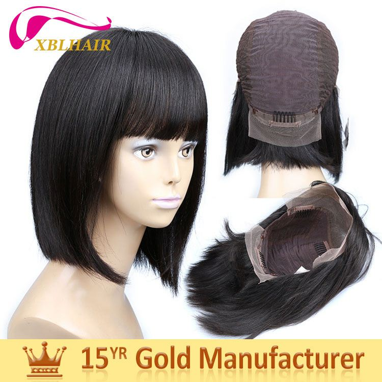 Preferred brand XBL strong weft no shedding lace front wig black women