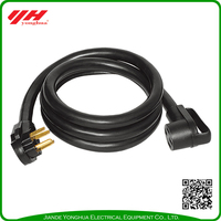 New design 4 wire RV plug cable wire,electric wire,electric cable wire