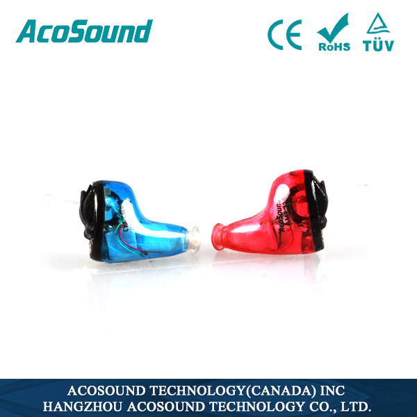 Programmable Mini ear hearing aid digital Acosound 610 Standard CIC hearing protection earplugs