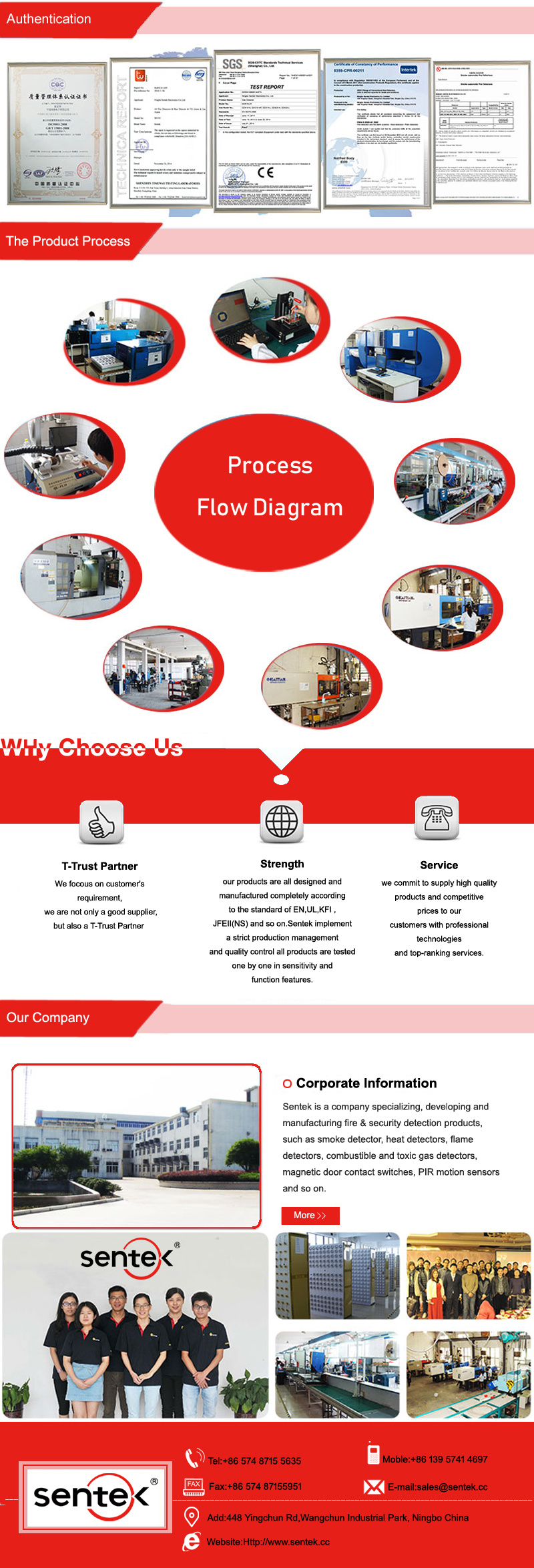 2 Or 4 Wired Fire Alarm Uv Flame Detector Fd 718 Buy Photocell Wiring Diagram Company Information