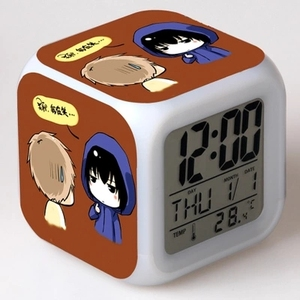 Cheap Price Square Shape LED Kids Digital Alarm Clock