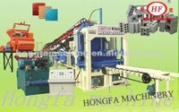 New technology QT4-15C Fully Automatic Color Paver Brick Making Machine ,Color Interlocking Brick Making Machine