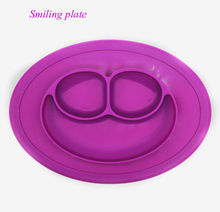 Wholesale Non-slip Suction Cup Silicone Baby Bowl Toddler Baby Silicone Plate