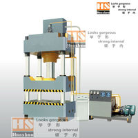 Four-column hydraulic machine, table and pressure can be customized