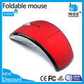 Customised Wireless Foldable Mouse computer/laptop PC printed logo in wireless mouse