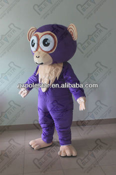 popular cartoon animal monkey mascot costumes
